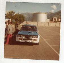 Fotografia Originale - RALLY FIAT 131 ABARTH COPPA DELLE DAME