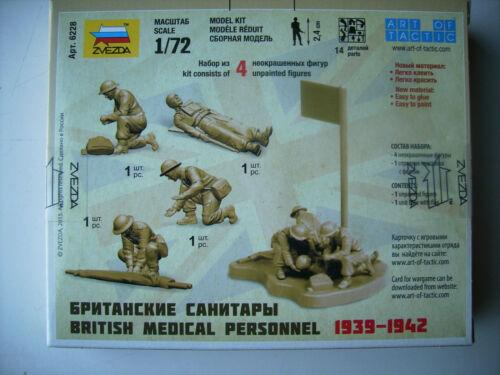 Zvezda 500786228 British Medical Personnel Figurensatz 1:72