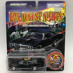 Greenlight-2006-HAN-Reno-1967-Chevy-Impala-Die-Cast-Car-Signed
