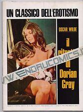 IL RITRATTO DI DORIAN GRAY fotofilm photostory supplemento a NUOVO KING # 2 1971