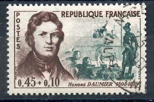 Stamp / Timbre France Oblitere N° 1299 Honore Daumier CoûT ModéRé
