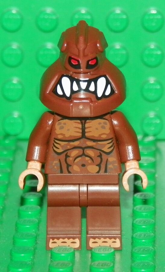 LEGO Batman - Custom Mini Figure - ClayFace w  Muscular Chest Pattern - Mini Fig
