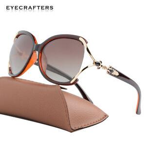 e3ab145242 Image is loading Brand-Designer-Polarized-Sunglasses -Women-Fashion-Oversized-Gradient-