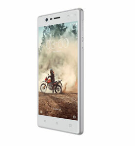 AU-Stock-UNLOCKED-Nokia-3-TA-1020-SS-Smartphone-Silver-White-Brand-New-AU-Sell