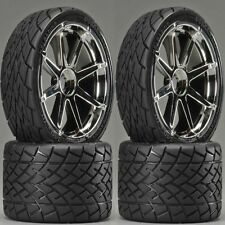 Hpi 4729 Mounted Phaltline Tires/Blast Wheel (4) Savage Revo T-Maxx 17mm Hex