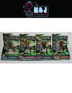 TMNT- 2014  Movie Combat Warrior Figures set of 4 *Rare*  (Aussie Seller)