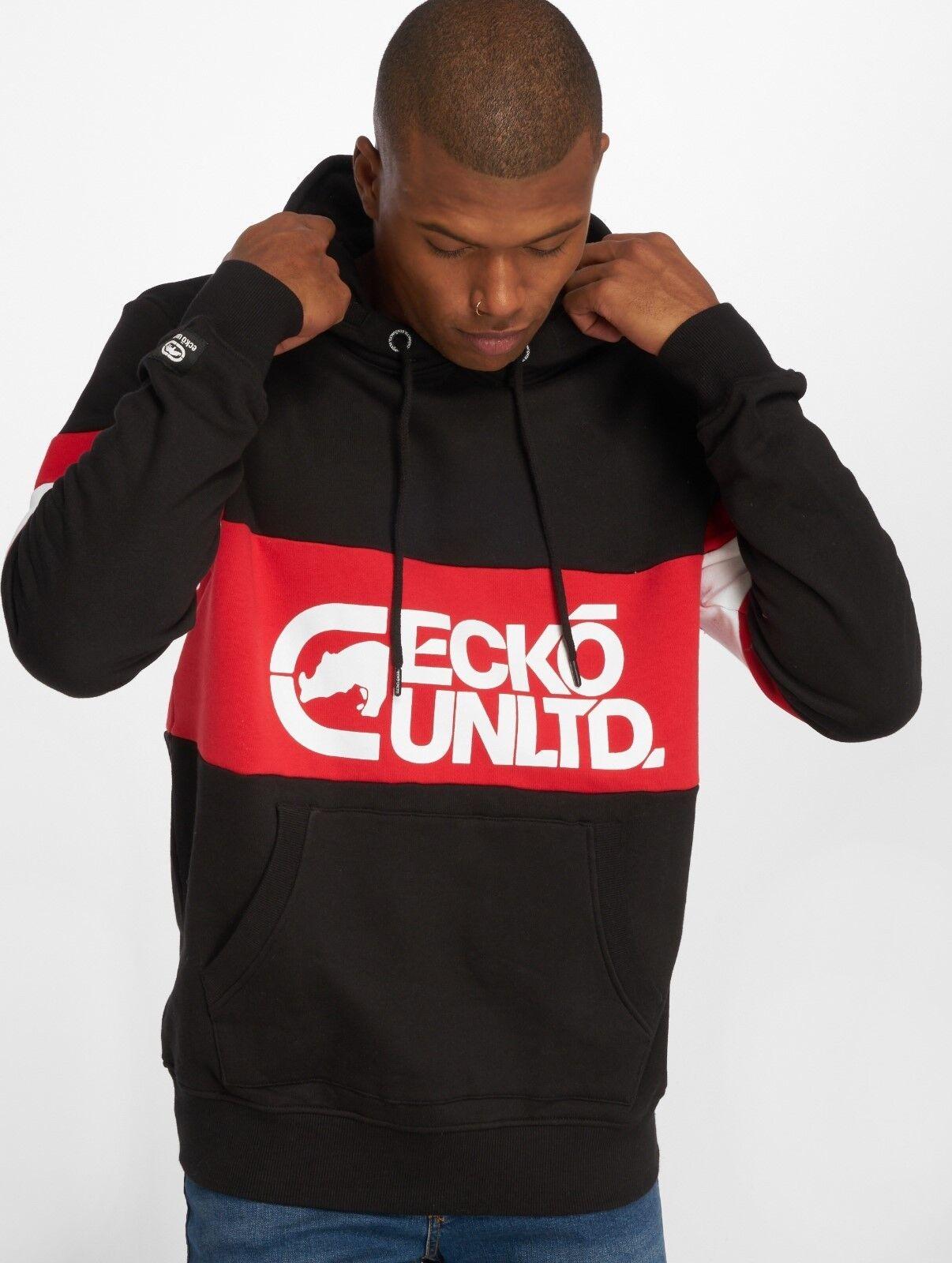 Ecko Unltd. Hoodie Flagship Pullover Größe S - 3XL Oldschool Hip Hop Streetwear