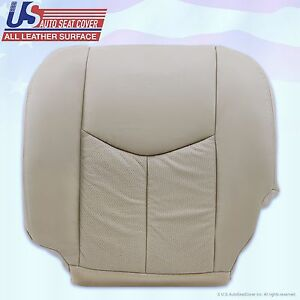 2003 to 2006 cadillac escalade driver bottom leather seat. Black Bedroom Furniture Sets. Home Design Ideas