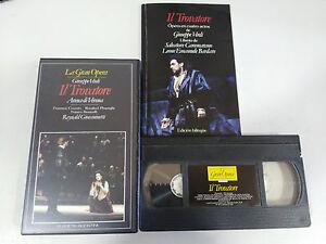 VERDI-IL-TROVATORE-ARENA-DI-VERONA-REYNALD-GIOVANINETTI-VHS-TAPE-LA-GRAN-OPERA
