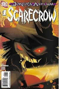 Joker-039-s-Asylum-Scarecrow-Comic-1-Cover-A-First-Print-2008-Joe-Harris-Juan-Doe-DC