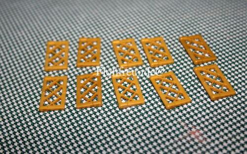 20 x Lego 60607 perlgold Gitterfenster,Gitter //Schiffsfenster wie neu