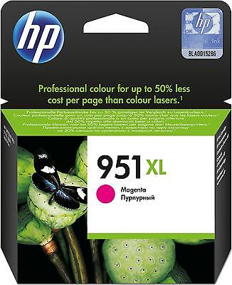 Genuine HP 951XL Magenta Ink Cartridges CN047AE for HP OfficeJet 8100 8600 8620