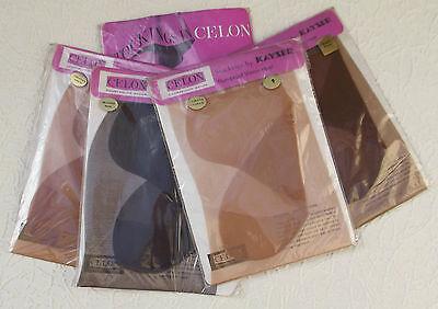 Vintage stockings size 9 Nylon Celon Kayser Bondor 1960s choose a colour RHT