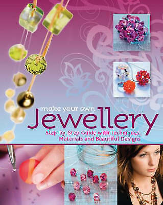 """""""AS NEW"""" NOLLING, Christa & STEMPELL, Kyra, Make Your Own Jewellery Book"""