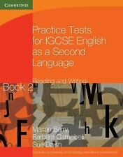 Practice Tests For Igcse English As A Second Language: Reading And Writing Bo...