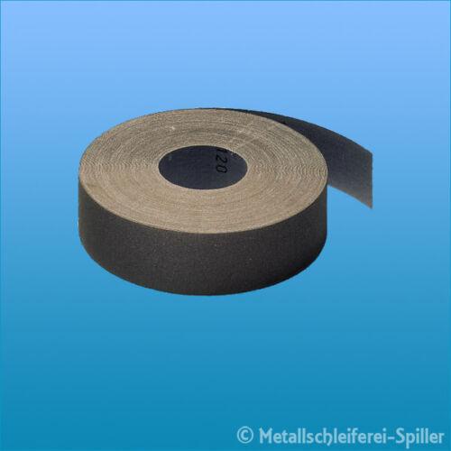 Schleifgewebe KL 385 JF 25x50000 mm Korn 60-120 Holz Metall Klingspor