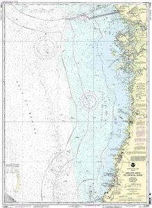 NOAA Chart Anclote Keys to Crystal River 30th Edition 11409
