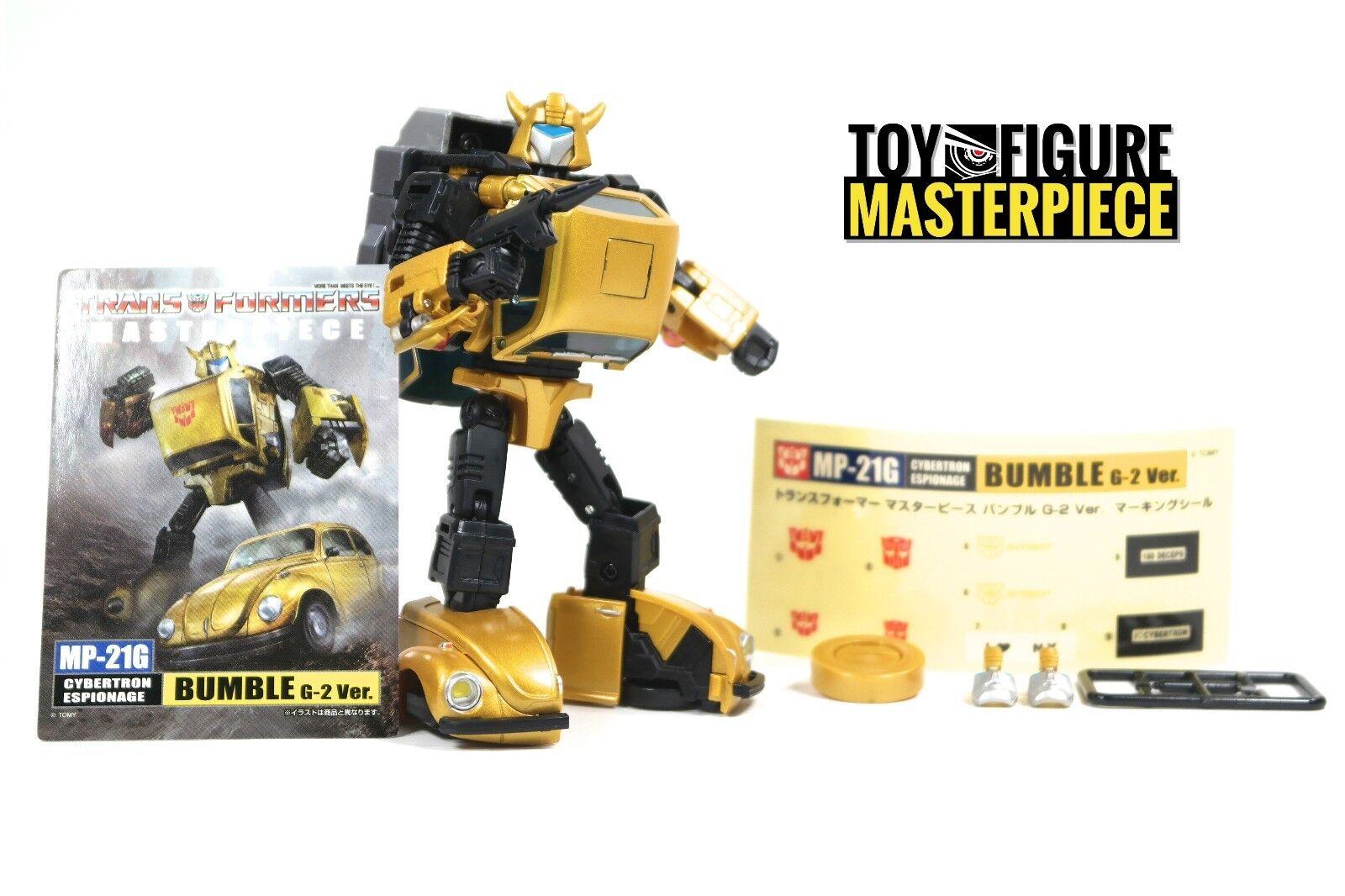 Takara Transformers Masterpiece MP-21G G2 Ver. Bumblebee US Seller