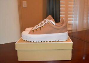 michael kors canvas sneakers