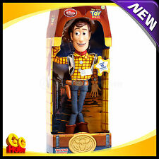 "Disney Toy Story Pull String Sheriff Woody 16"" Talking Original Figure Doll NEW"