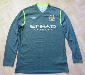 newest da049 9f76c Manchester City Goalkeeper Shirt jersey GK 2011-2012 UMBRO ...