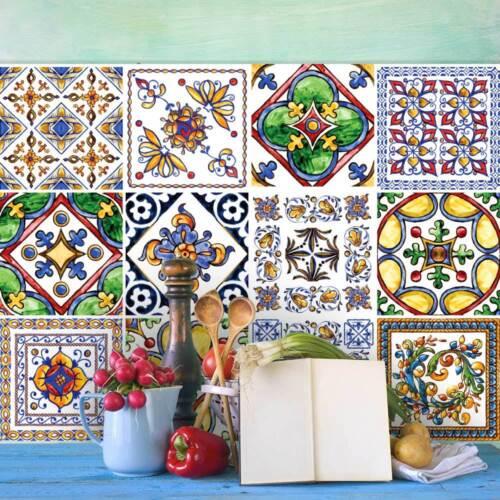 PS00056 Adesivi murali in pvc per piastrelle per bagno e cucina Stickers design