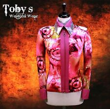 LARGE PRETTY Showmanship Western Horsemanship Show Jacket Shirt Rodeo Queen Rail