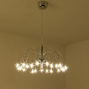 Details About Led Crystal Chandelier Bedroom Ceiling Light Star Lighting Pendant Lamp Fixtures