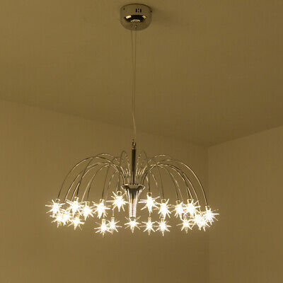 Led Crystal Chandelier Bedroom Ceiling Light Star Lighting Pendant Lamp Fixtures Ebay