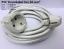 PVC Stromkabel 3x1,50 mm² in  2-3 5-10 Meter Verlängerungskabel