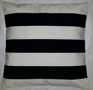 White Stripe Ikea Fabric Cushion Cover