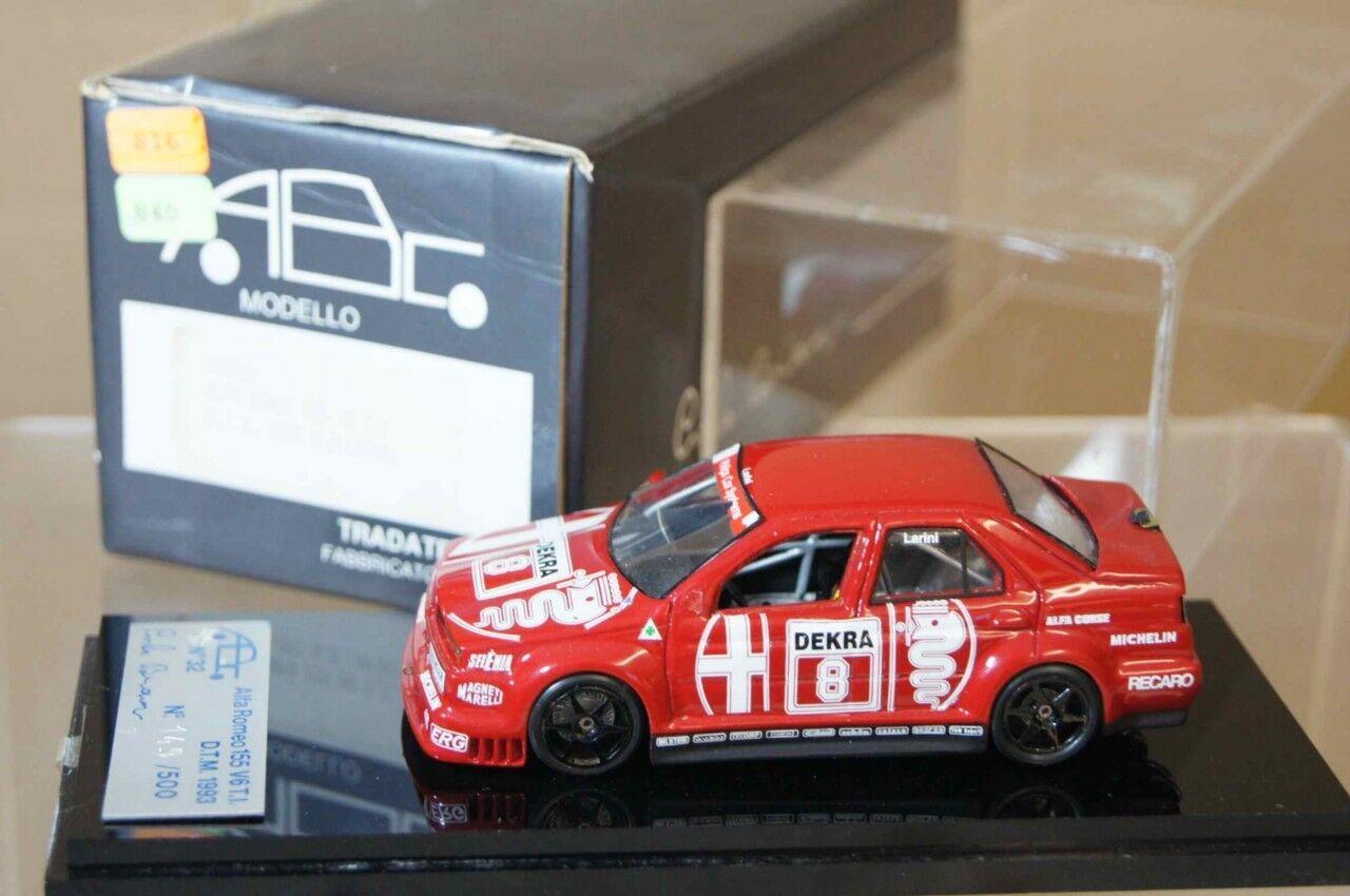 Abc Carlo Brianza 1993 Alfa Romeo 155 V6 V6 V6 DTM Larini Ar 0eb8d6