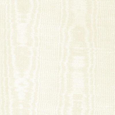 Solid Vinyl Off White Light Cream Moire Satin Silk