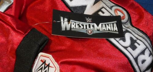 WWE WrestleMania 31 Jersey Youth Size M L  t-shirt New Football Boys Child