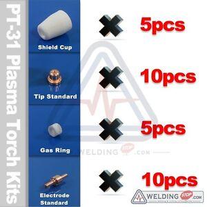 30pcs-LGK-40-PT-31-CUT-50D-CT-312-LT5000D-Plasma-Cutting-Torch-Consumables