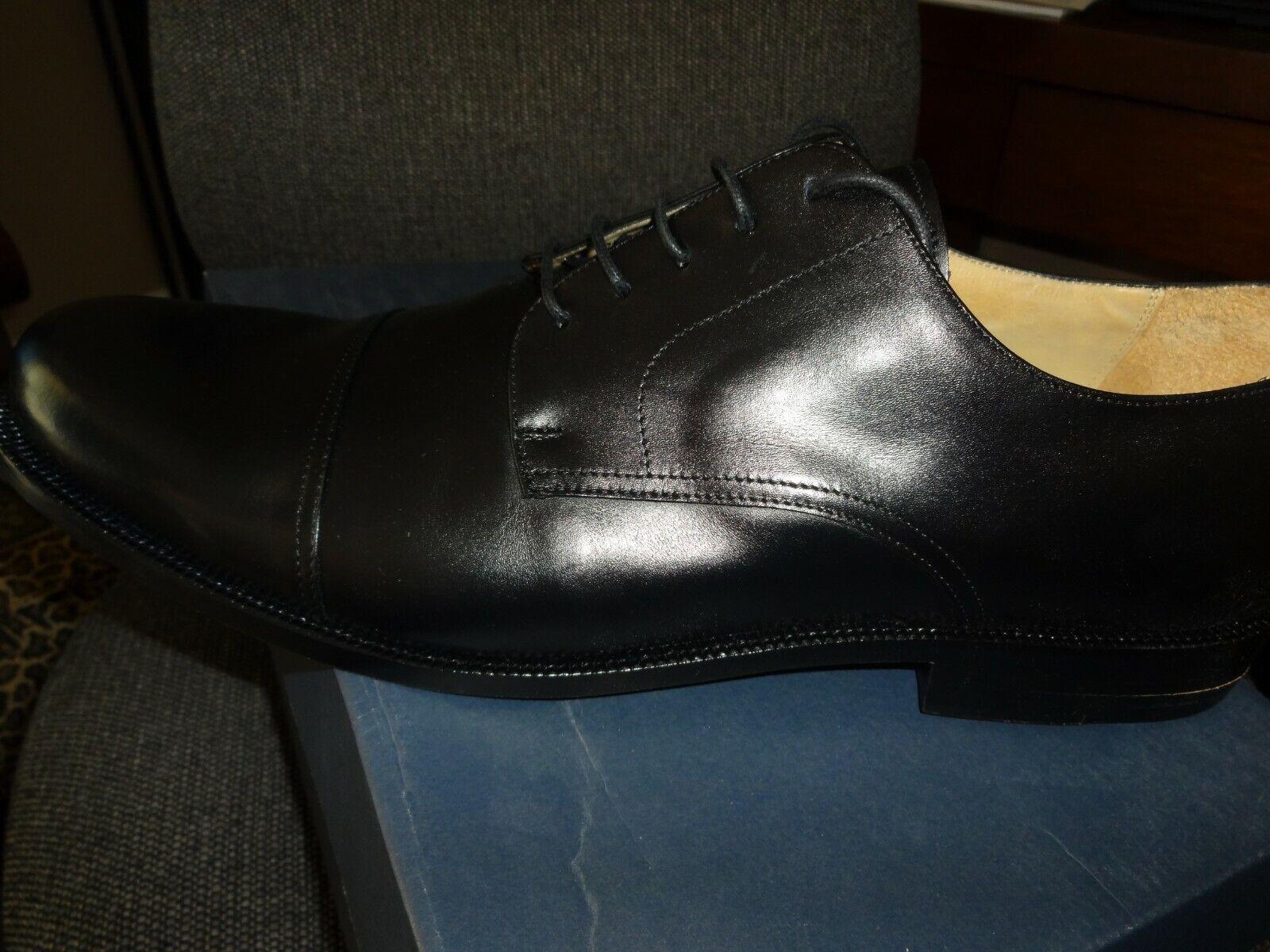 risparmia il 60% di sconto e la spedizione veloce in tutto il mondo Huntleigh Uomo dress scarpe, nero nero nero Leather 14 Wide  risparmia il 60% di sconto