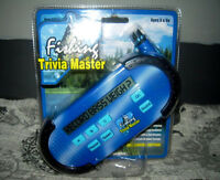 Electronic Fishing Trivia Master/ Pass The Time While U Wait For Them 2bite