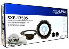 Alpine SXE-1750S Car Audio 6.5-Inch Component 2-Way  Car Speakers New SXE1750S