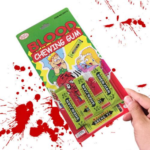 Newest Spitting blood Joke Chewing Gum Shocking Toy Gift Prank Trick Gag .*