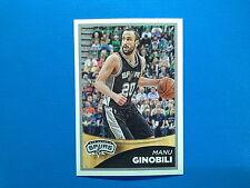 2015-16 Panini NBA Sticker Collection n.264 Manu Ginobili San Antonio Spurs