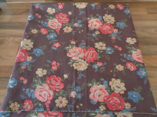 FQ unused REMNANT CATH KIDSTON COTTON DUCK WINTER BARN patchwork craft fabric