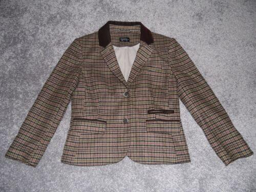 Tweed 8 Blazer da uomo Stunning donna Giaccone Topshop 12 Coat Euro Us 40 da wqtfaRZZ