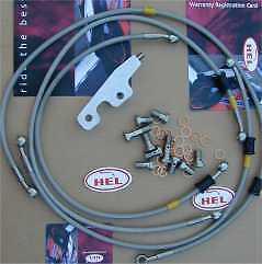 Colour RED Honda Blackbird CBR1100XX 96-08 Hel Brake D-Link Kit UK Supplier NEW