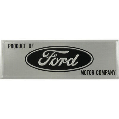 Vintage Ford Emblem Door Scuff Plate C2DB-64017A05-A Nice