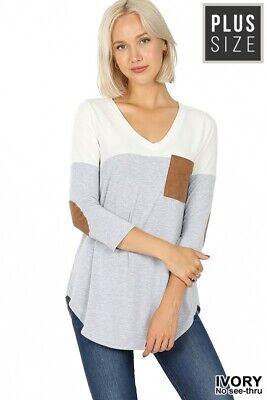 Dusty Pink Animal Chevron Colorblock Shirt USA S M L Haptics NWT Women/'s Boutiq
