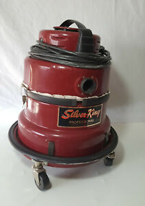 Vintage-Silver-King-Professional-vacuum-cleaner-Canister-Works-Great-Model-73B2