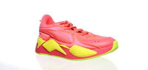 PUMA-Womens-Rs-X-Pink-Alert-yellow-Alert-Running-Shoes-Size-10-1497882