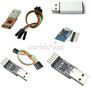 Replace-CP2102-USB2-0-to-TTL-UART-5-6PIN-Module-Serial-Converter-STC-FT232-Case