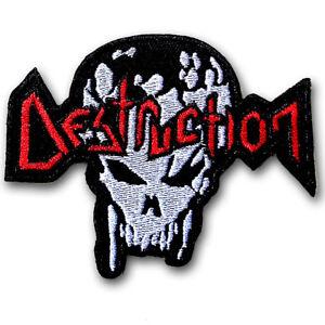 Patch Destruction Trash Black Metal band.
