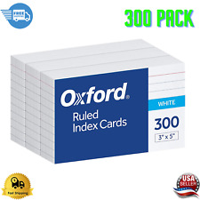 Oxford Ruled Index Paper Cards 3 X 5 White 300 Pack 10022 On Sale
